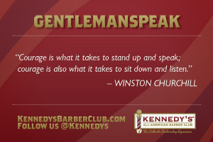 Kennedy's Gentleman Speak