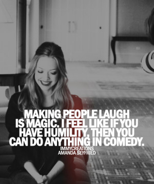 AMANDA SEYFRIED QUOTES TUMBLR