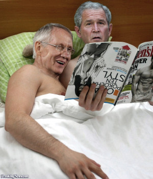The-Bush-Scandal-George-Bush-and-Harry-Reid-in-Bed--66614.jpg