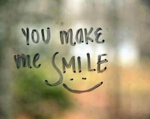 You Make Me Smile,Quote