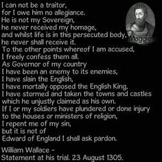 William Wallace Trial