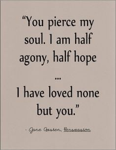 Great Quotes From Classic Novels ~ Literary Love Quotes on Pinterest