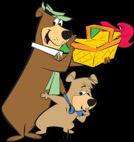 How Draw Boo From Yogi Bear