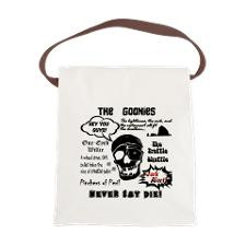 Goonies Sayings Canvas Lunch Bag for