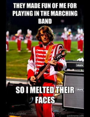 25 Hilarious Marching Band Memes