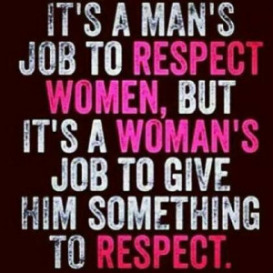 true. Lack of self respect & boundaries = inability to respect ...