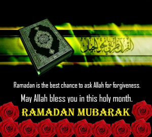 Send this divine card of Ramadan to all and spread blessings.