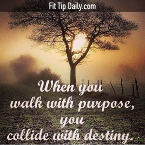 Find your purpose and destiny will follow ... #fitness #exercise # ...