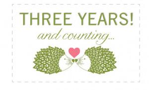 Happy 3!