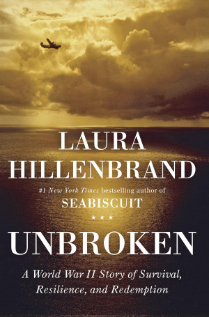 Take a look at the cover of Unbroken .