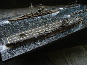 Dkm Admiral Hipper Kit Revell Escala Construido Por Erick