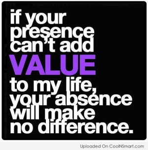 Absence Quotes, Sayings about being absent