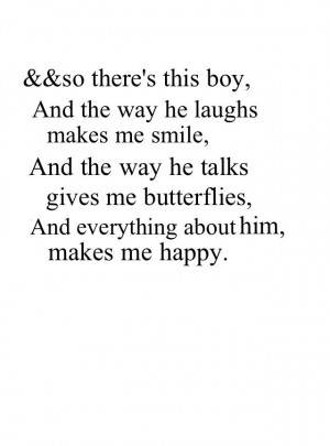 so there's this boy ♥
