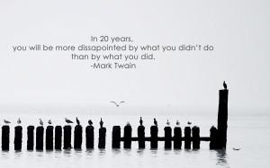Mark Twain quote wallpaper