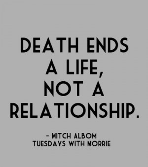 Tuesdays With Morrie Quotes Love