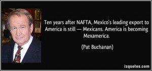 Ten years after NAFTA, Mexico's leading export to America is still ...