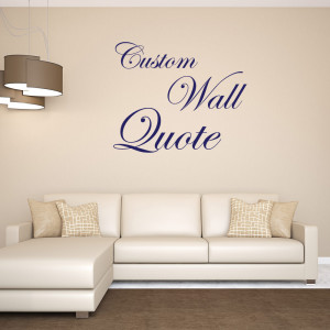 custom wall quote sticker decal room decor restickable