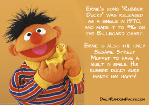 Seasame Street Facts- Ernie's Rubber Ducky copy