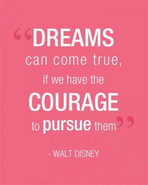 Walt Disney Quote Printable Print Great for Children's Room or Nursery ...