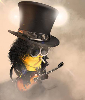 DESPICABLE ME' MINIONS PERFORM A KISS CLASSIC