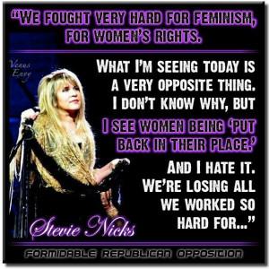 Stevie Nicks on Feminism