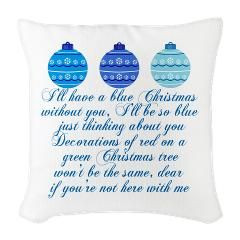 ll have a blue Christmas without you. Pretty Elvis Presley throw ...