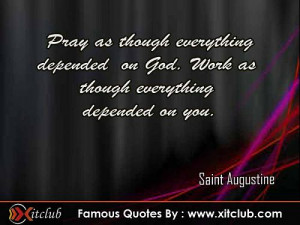 15 Most Famous Quotes By Saint Augustine