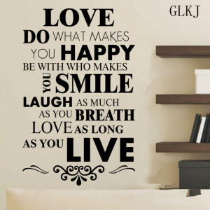 DIY-Happy-Live-Laugh-Love-Smile-Inspirational-Quote-Wall-Art-Vinyl ...