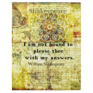 Shakespeare Quote Jigsaw Puzzle
