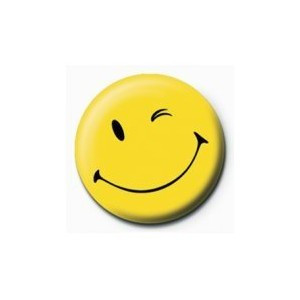 Smiley Ball Marker Yellow Wink