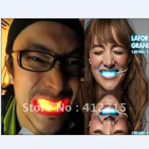 LED light braces flashing teeth Funny the braces bar supplies flash ...