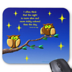 Owl Quotes Gifts - T-Shirts, Posters, & other Gift Ideas