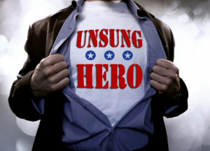 So this post is about heroes, or about who's a real hero in my ...
