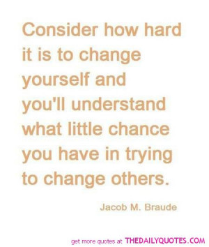famous quotes about change for the better