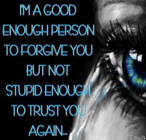 am a good enough person
