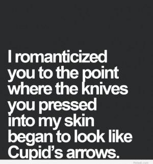 Cupid arrow love quote