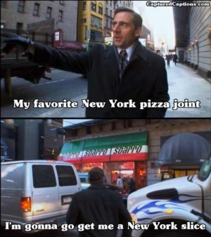 Because Sbarro is unique to New York...