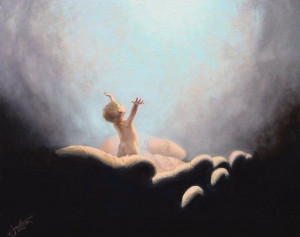 child going to heaven - Image Page
