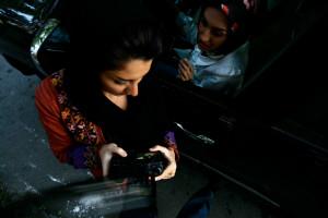 Tehran-Iran/ Fashion shoot/ Behind the scene