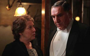 Downton Abbey Mrs Hughes Und Mrs Patmore Quelle Zd...