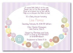 Cute Baby Shower Quotes For Girls Cute as a button baby shower