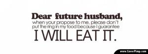 Dear Future Husband Timeline Cover