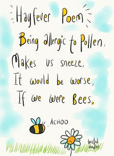 hay fever poem more allergies relief fever poems hay fever puns ...