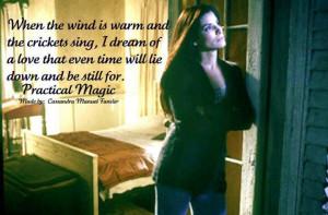Practical Magic #practicalmagic #dream #wind #love