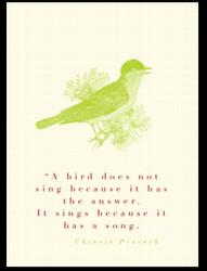 Bird Quote AABD
