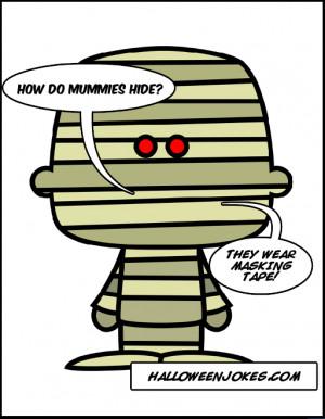 Halloween Mummy Jokes Joke...