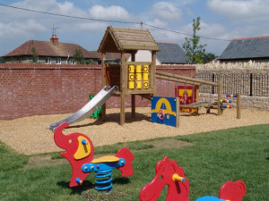 Play Area at The Walnut Tree Inn, Mere, Warminster, Wiltshire