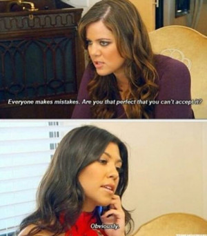 chanel, funny, kloe kardashian, kourtney kardashian, lol, quote, the ...