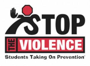 Stop The Violence Logo Violent gangs