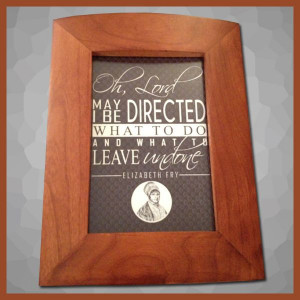 Fry Quote Framed Art (brown) http://www.quakergear.com/product/framed ...